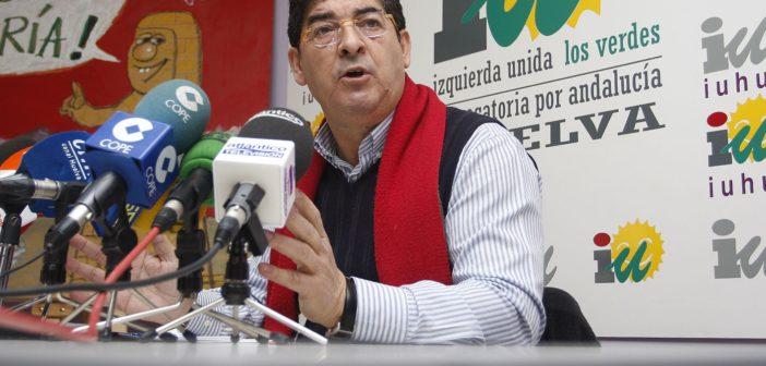 Diego Valderas, coordinador andaluz de IU.