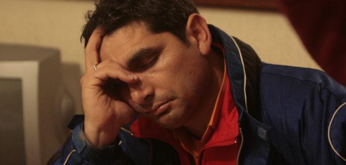 Juan José Cortés, durante la noche del día en que desapareció su hija. (José Carlos Sánchez).