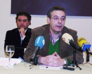 Fernando Infante, en su comparecencia ante los medios.
