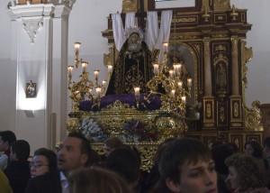 La Soledad tampoco salió a la calle. (Julián Pérez).