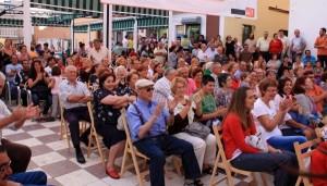 Acto del PSOE en Isla Cristina.