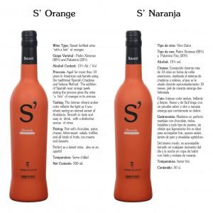 Vinos naranjas del Condado de Huelva.