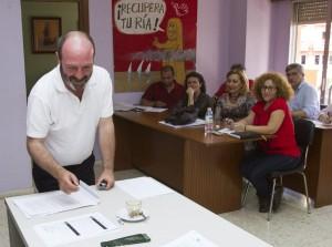 Comision Ejecutiva Provincial de IU. (Julián Pérez)