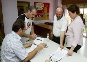 Miembros de la Comisión Ejecutiva de IU. (Julián Pérez)