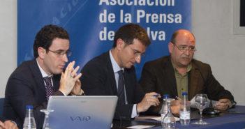 Mesa redonda sobre la libertad de prensa. (Julián Pérez).