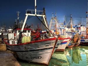 Puerto de Isla Cristina.