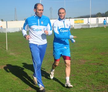 César Quesada, a la derecha.