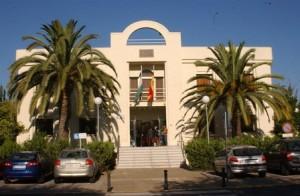 Palacio de Justicia de Ayamonte.