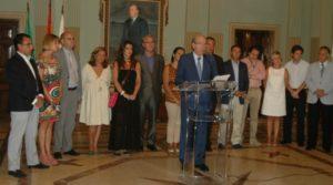 El alcalde de Huelva presenta su nuevo equipo de gobierno.