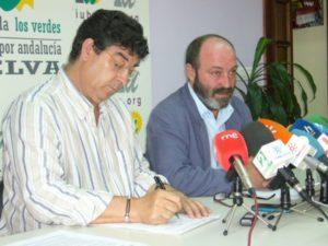 Diego Valderas y Pedro Jiménez.