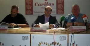 Presentación de la Memoria 2010 de Cáritas