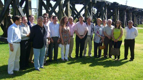 Miembros del comité de alcaldes del PP