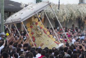 La Virgen saldrá el próximo día 19 de agosto por la aldea del Rocío.