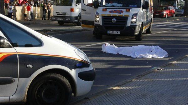 Cadáver del joven. (E. D.)
