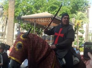 Caballero medieval.