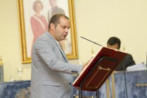 El izquierdista Rafael Sánchez Rufo. (Foto: Julián Pérez)