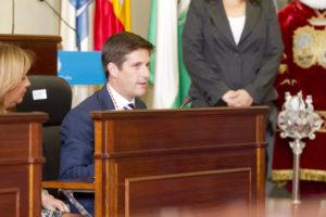 El portavoz del PP, Guillermo García de Longoria. (Foto: Julián Pérez)