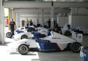 Preparativos de la BMW TalenCup en el Circuito Monteblanco de La Palma.