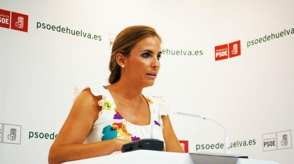 Elena Ruiz, portavoz del PSOE de Huelva.