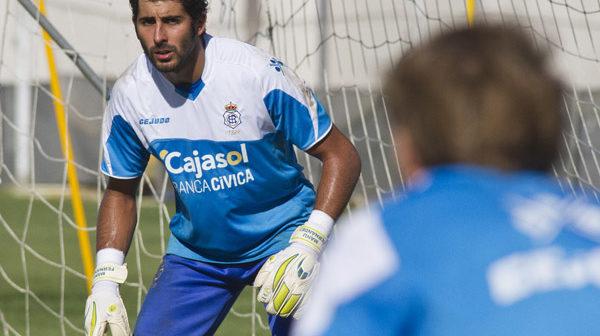 Entrenamiento del Recreativo de Huelva en la Ciudad Deportiva. (Julián Pérez)