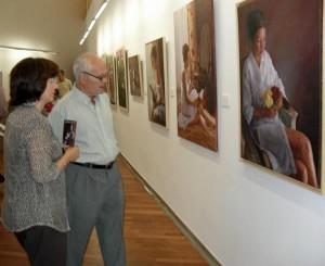 Exposición de Carmen Gómez Orta en Isla Cristina.