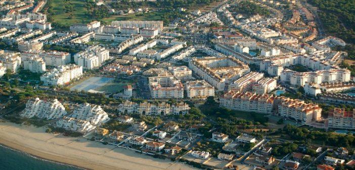 Vista aérea de El Portil. (Rodolfo Barón)