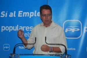 Francisco Riquel, coodinador provincial de la campaña del PP para las generales.