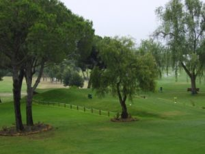 Hoyo 1 del Club de Golf Bellavista.