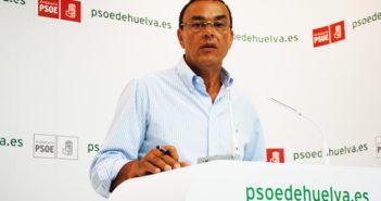 Ignacio Caraballo, secretario de Organización del PSOE de Huelva.