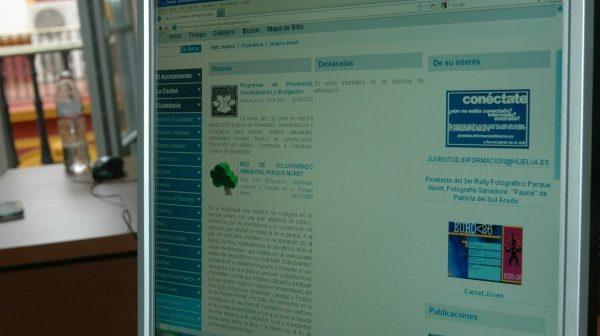 Web de la Concejalía de Juventud.