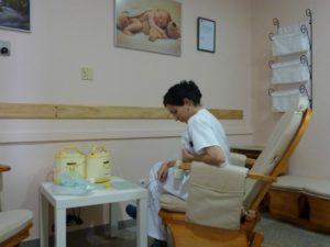 Programa de apoyo a la lactancia materna.