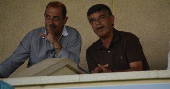 Julio Peguero, durante el partido Ceuta-Recreativo. (Tenor).