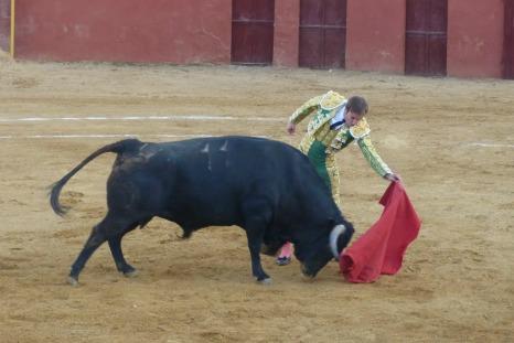 Silvera, en su corrida de despedida en Arroyomolinos.
