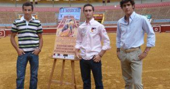 Finalistas del certamen 'Huelva busca un torero'.