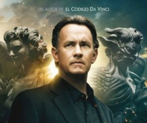 Cartel de la película 'Ángeles y demonios'.