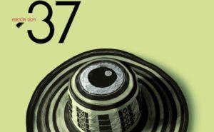 Detalle del cartel anunciador de la 37 edición del Festival de Cine Iberoamericano.