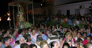 Traslado de la Virgen de Montemayor.