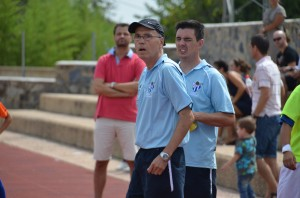 Antonio Toledo, técnico del Cajasol Sporting de Huelva.