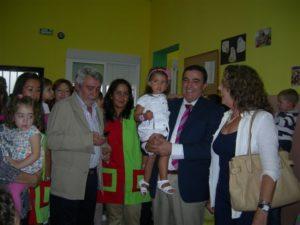 Apertura del curso en la Escuela  Infantil Peter Pan de Villarrasa.