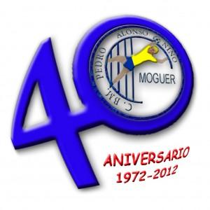 Logo del 40 aniversario del Pedro Alonso Niño de Moguer.