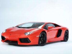 Lamborghini Aventador en el que subió la familia Cuadri.
