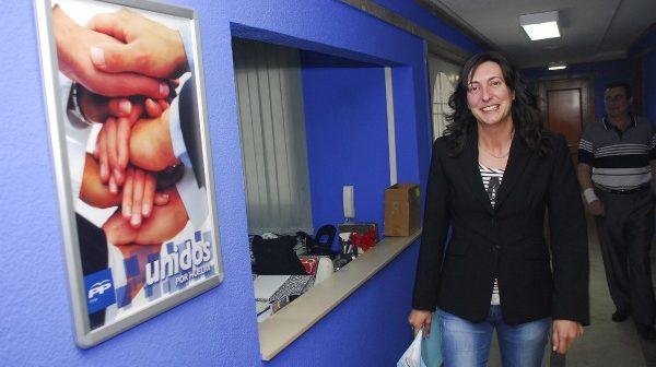 Loles López, alcaldesa de Valverde. (A. L. Delgado)