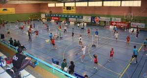 Gran Premio Diputación de bádminton sub 13 y sub 17 en Huelva.