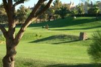 Campo de golf de Isla Canela.