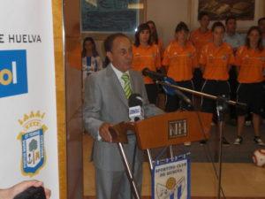 José Antonio Muñoz Lozano, presidente del Cajasol Sporting.
