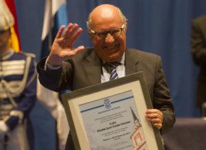 El ex alcalde Juan Ceada. (Julián Pérez)