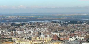 Vista aérea de Huelva. (Rodolfo Barón)