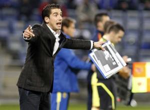 Julio Velázquez, técnico del Villarreal. (J. Pérez)