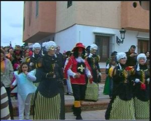 Foto de archivo del carnaval de Matalascañas.