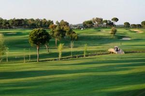 Campo de golf en la provincia onubense.